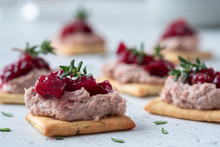 Rosemary Cracker With Pate And...