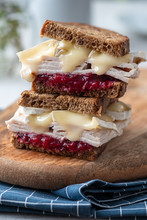 Fresh Homemade Turkey Sandwich...
