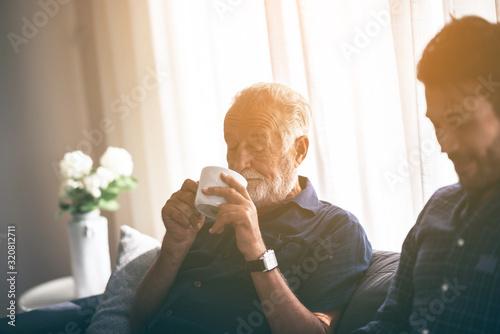 Photo Father-son bonding
