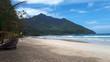 Trpischer Strand auf Insel