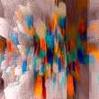 canvas print picture Abstract colored pattern. Digital art design