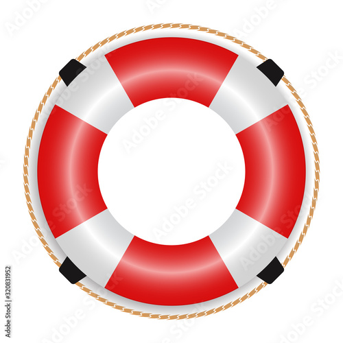 ring life buoy Icon Wallpaper Mural