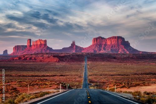 Fototapeta USA Arizona Forrest Gump Hill obraz na płótnie