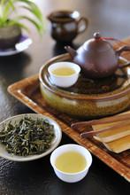 Still Life Teapot Set Of Taiwan High Mountain Tea
