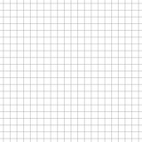 Simple grid paper. Blank sheet in cells. Squared grating on white background. Vector seamless pattern. Graph paper. Geometric checkered texture for school education. Square grid for design prints - 320839505