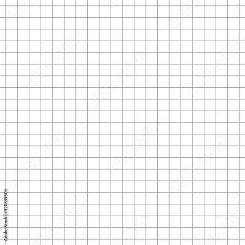 Fotomural Simple grid paper