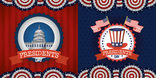 Bundle Of Presidents Day Two Emblems