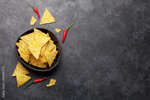 mata magnetyczna Mexican nachos chips