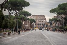 View Of Via Dei Fori Imperiali...