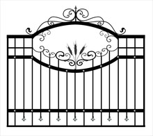 Gates Forged Sketch. Artistic ...