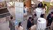 Business people networking at business conference