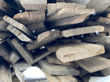 Stacked Wood Scraps