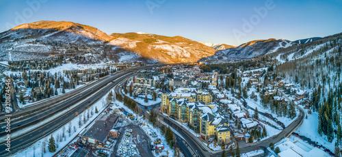 Photo Vail, Colorado, USA Drone Skyline Aerial