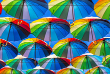 Colorful Umbrellas Blue, Green...