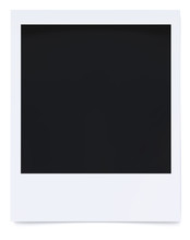 Blank Photo Frame Isolated On ...