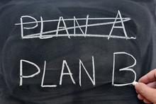 Plan A Tachado Y Plan B Escrit...