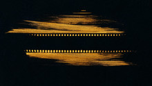 Silhouette Of A Film Strip On ...