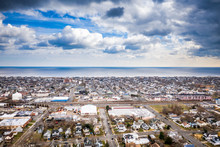 Aerial Of Bradley Beach New Je...