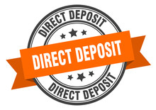 Direct Deposit Label. Direct D...