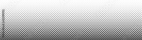 Fototapeta Gradient halftone. Abstract gradient background of black dots. Vector illustration. obraz