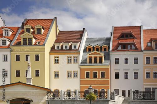 Wroclaw street in Zgorzelec. Poland Fototapete