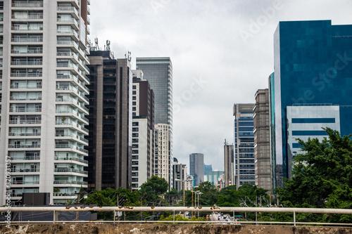 São Paulo - Brasil Fototapet