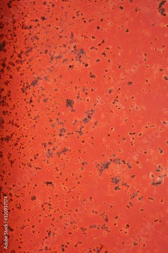 Red orange rust texture