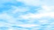 空と雲のアニメ風グラフィック背景テクスチャ素材