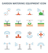 Watering Equipment Icon