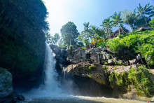 Tegenungan Waterfall In Bali, ...