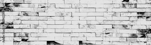 Fotografia, Obraz Old wall texture cement dirty gray with black  background abstract grey and silver color design are light with white background