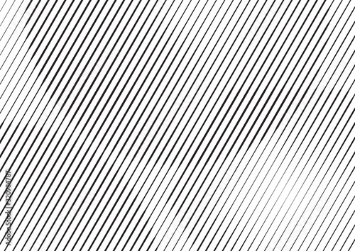 Photo Abstract background with lines of variable thickness