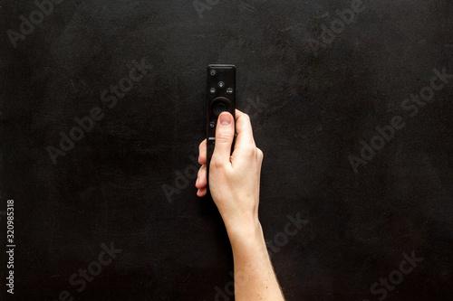Valokuvatapetti Watch TV concept