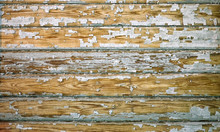 Old Shabby Wooden Planks With ...