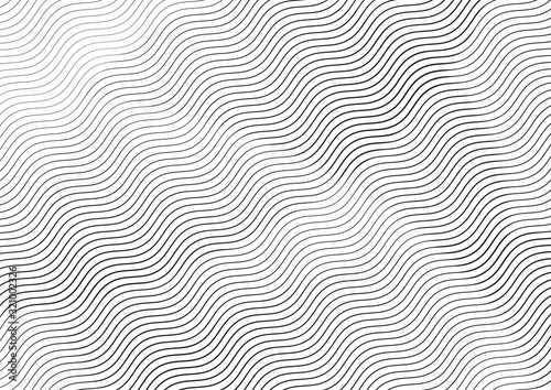 Abstract background with lines of variable thickness Wallpaper Mural