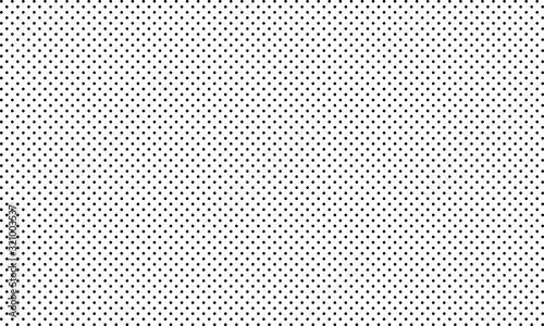 Polka dot pattern vector. Black polka dots Wallpaper Mural