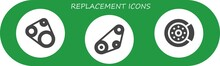 Replacement Icon Set