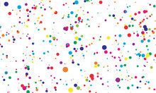 Dot Color Background. Vector I...