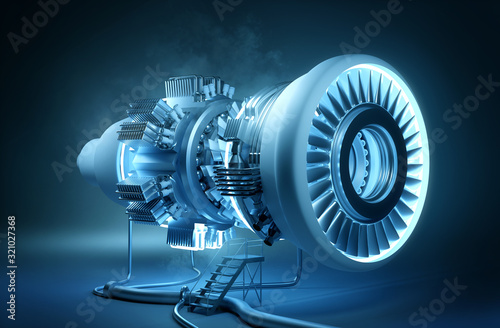 Cuadros en Lienzo Futuristic Engineering