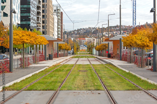 Photo Tram Railway Oslo