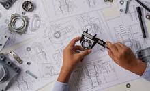 Engineer Technician Designing ...