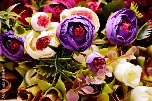 Fototapeta bouquet of roses obraz na płótnie