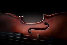Violin Body And Strings Detail...