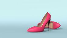 High Heel Stilettos With Space...