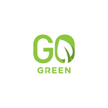 Logo Design About Go Green Idea