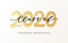 Class Of 2020. Modern Calligra...