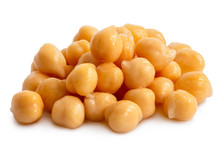 Cooked Chick Peas.