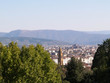 View of Florence from the Boboli gardens.