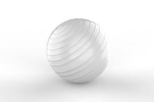 Blank  PVC Anti Burst Gym Ball...