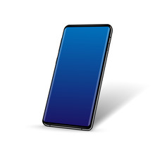 Realistic Smartphone In Perspe...